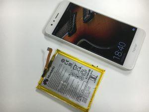 内臓電池パックを交換修理したHUAWEI honor6Plus