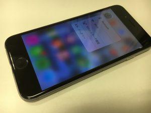 画面交換修理後のiphone6s
