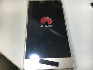 液晶画面修理後のHuawei P9 Lite