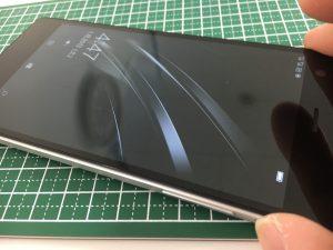 電源ボタン修理後のSONY VAIO Phone Biz