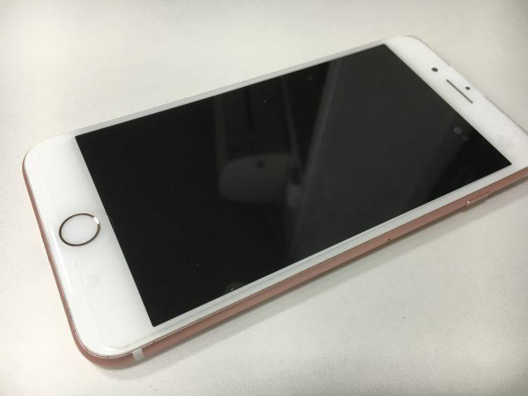 液晶に何も表示されなくなってしまったiPhone7Plus