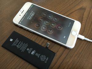 長年使われていて突然電源がつかなくなってしまったアイフォン6