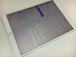 画面割れ修理後のiPad Pro 10.5インチ