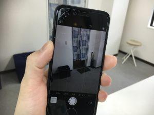 パーツ交換修理後のiPhone8写真撮影
