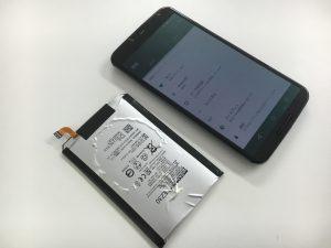 バッテリーを交換後のNexus6