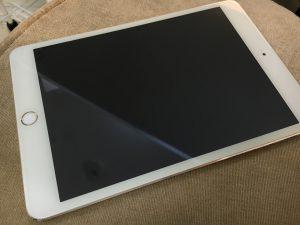 ガラス交換修理後のiPad mini3