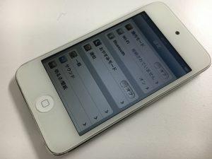 ガラス交換修理後のiPod touch第4世代