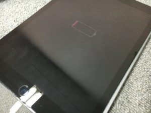 充電口交換修理で改善したiPadPro9.7インチ