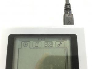 端子を交換し、PCが認識されたLEGO Mindstorms EV3