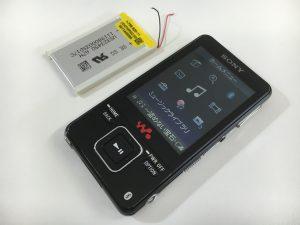 バッテリー交換修理後のSONY ウォークマン NW-A829