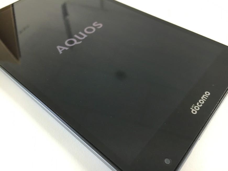 表面ガラス交換修理でタッチ切れが解消したAQUOS PAD SH-05G