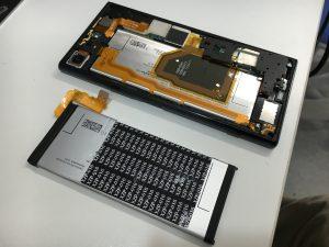 バッテリー交換修理後のXperia XZ Premium(SO-04J)