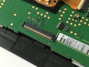 New3DSLLのコネクターストッパー(ラッチ)部分