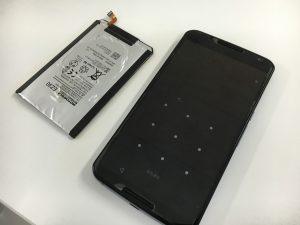 電池交換修理後のNexus6