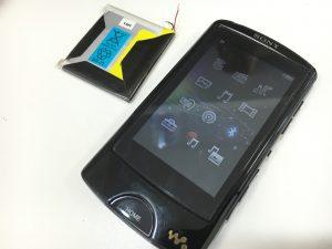 バッテリー交換修理後のNW-A866