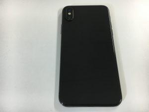 バックガラスヒビ割れ修理後のiPhoneX-300x225