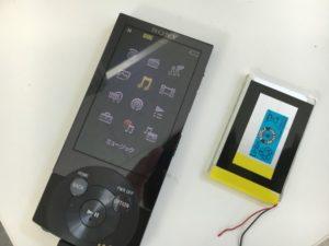 電池パックを新品に交換したWALKMAN NW-A857