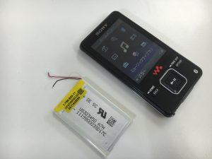 バッテリー交換したウォークマンNW-A829-300x225