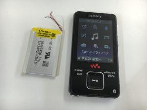 バッテリー交換したウォークマンのNW-A829-300x225