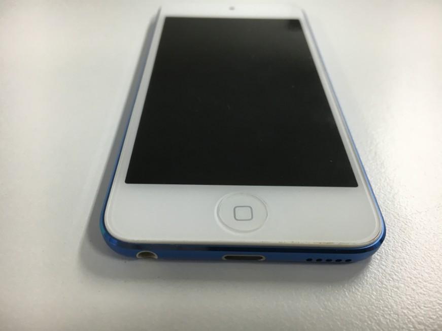 バッテリーを新品に交換してホームボタンの浮きがなくなったiPod touch6th