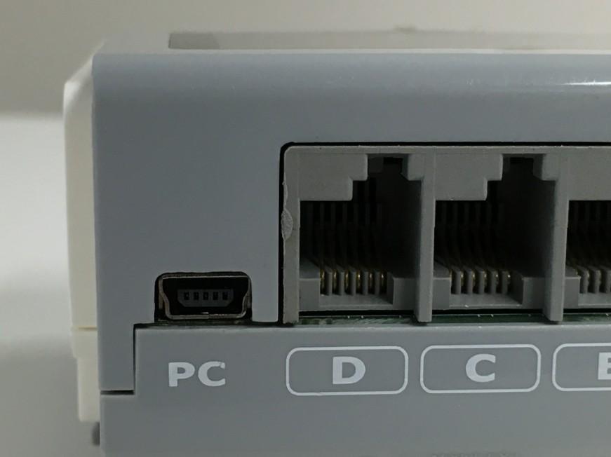 miniUSBコネクタ交換修理後のLEGO mindstorm EV3
