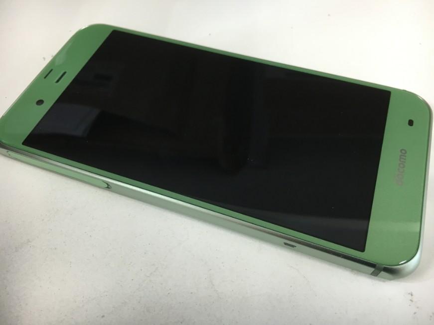液晶画面を交換して操作できるように改善したSHARP AQUOS ZETA(SH-04H:グリーン)