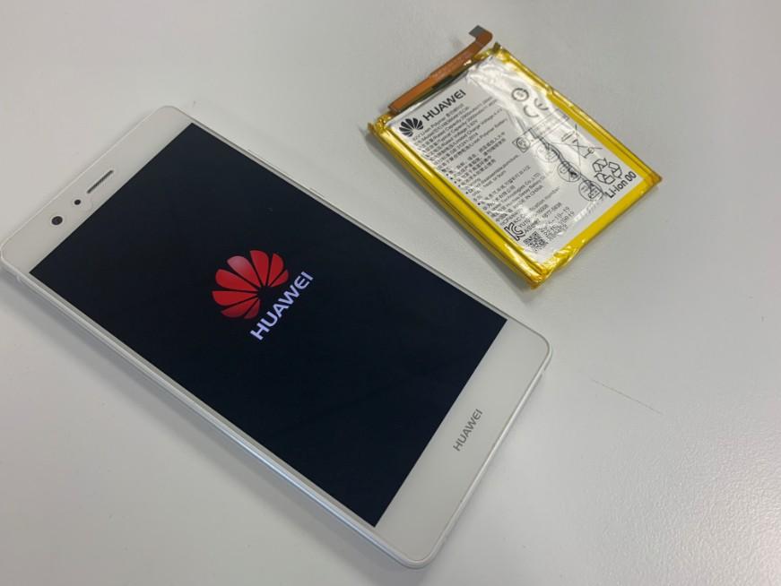 バッテリーを新品に交換したP9 Lite Premium