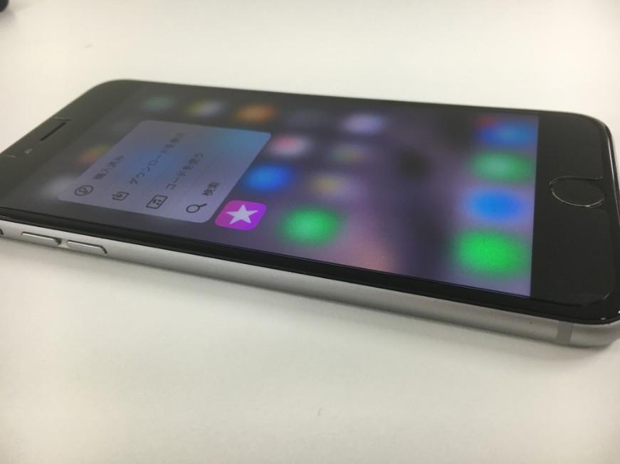 液晶画面を交換したiPhone6s