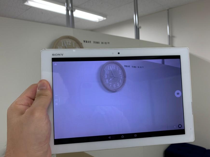 外側カメラを使えるようになったXperia Z4 Tablet(SO-05G)