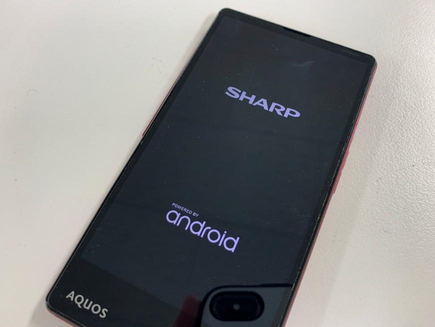 液晶画面を交換してタッチ操作が出来るようになったAQUOS Xx2 mini(503SH)