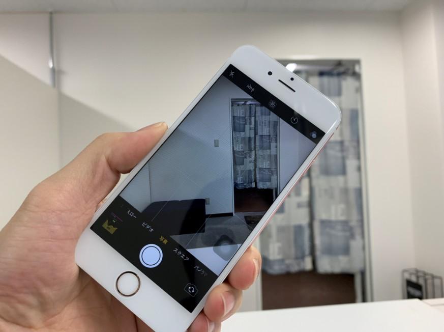 バックカメラ交換で映るように改善したiPhone6s