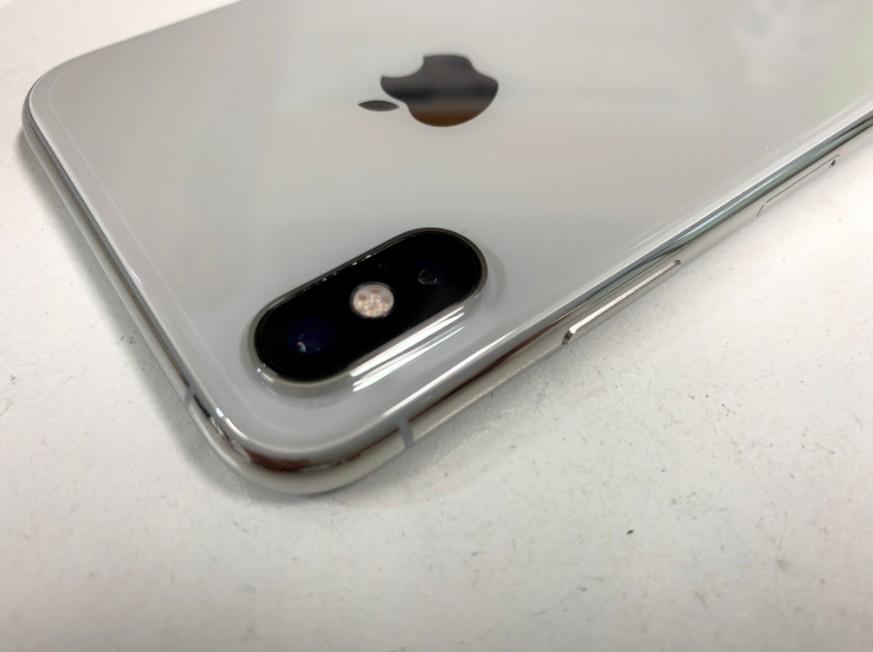 外側カメラレンズを交換修理したiPhone XS