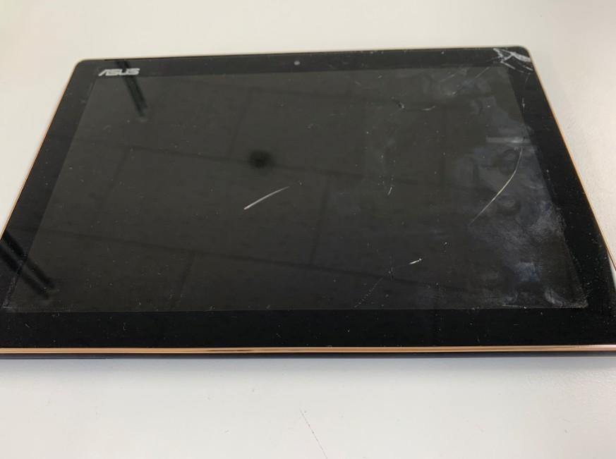 液晶画面がひび割れてタッチ操作できないZenpad 10(Z301MFL)