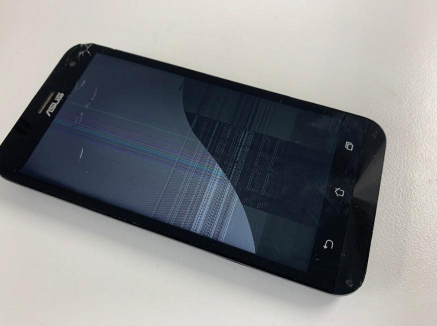 液晶画面を損傷したZenfone2Laser(ZE500KL)