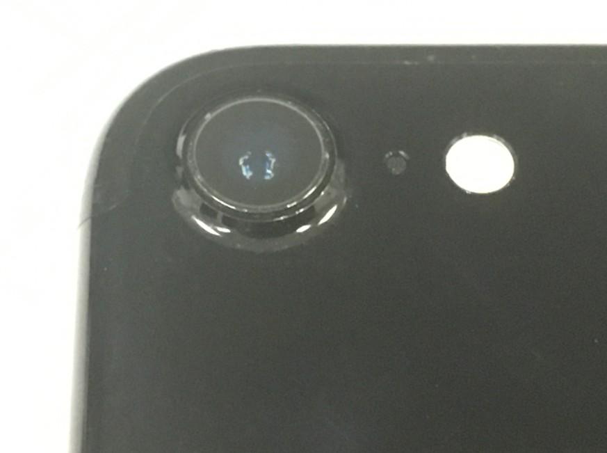 外側カメラレンズ交換修理後のアイフォン7