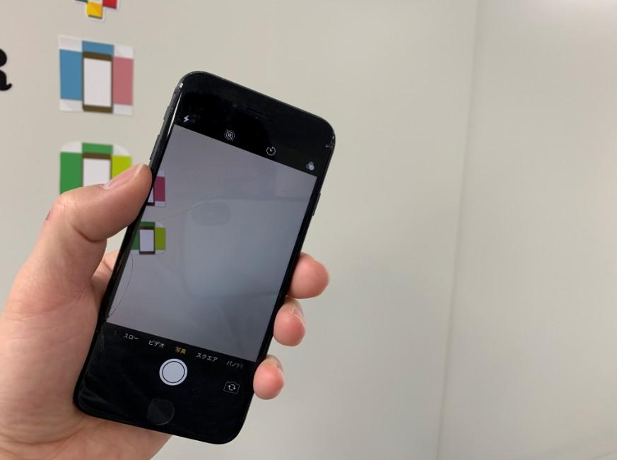 外カメラを交換修理したiPhone8