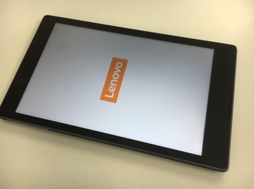 液晶画面交換修理したLenovo Tab2