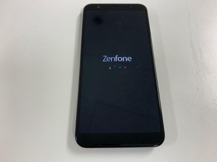 基板洗浄で電源が入るようになったZenfone Max(ZB555KL)