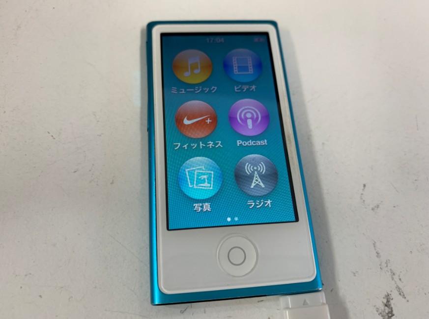 バッテリー交換でリンゴループが改善したiPod nano第7世代