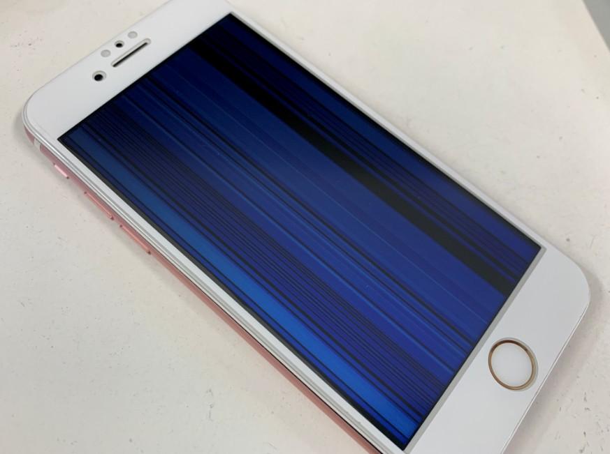 液晶画面に線が入って全く操作が出来ないiPhone7