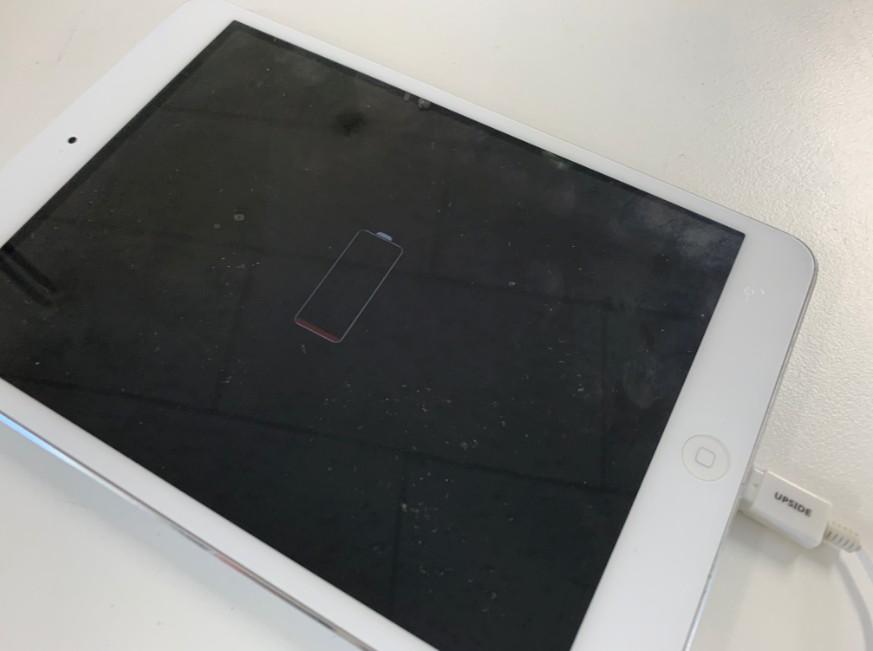 充電マークは出るiPad mini2