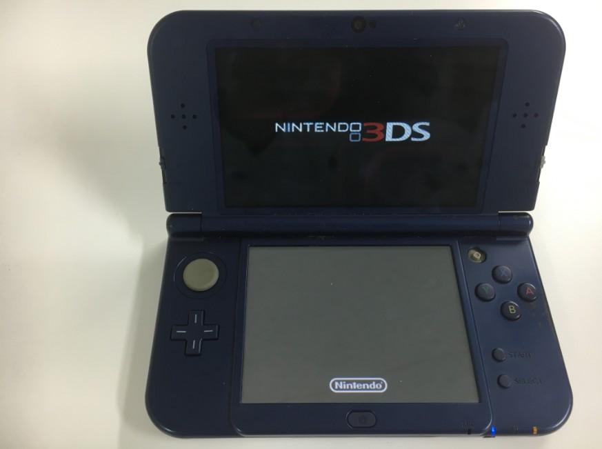 上下液晶画面に表示されるようになったNew 3DS LL
