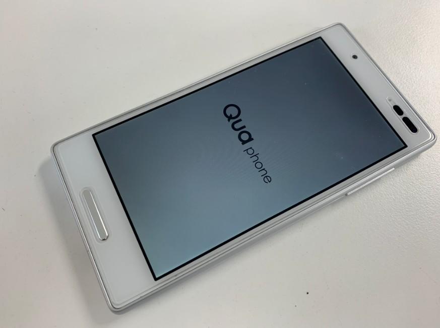 割れた液晶画面が元通りになったQua Phone QX(KYV42)