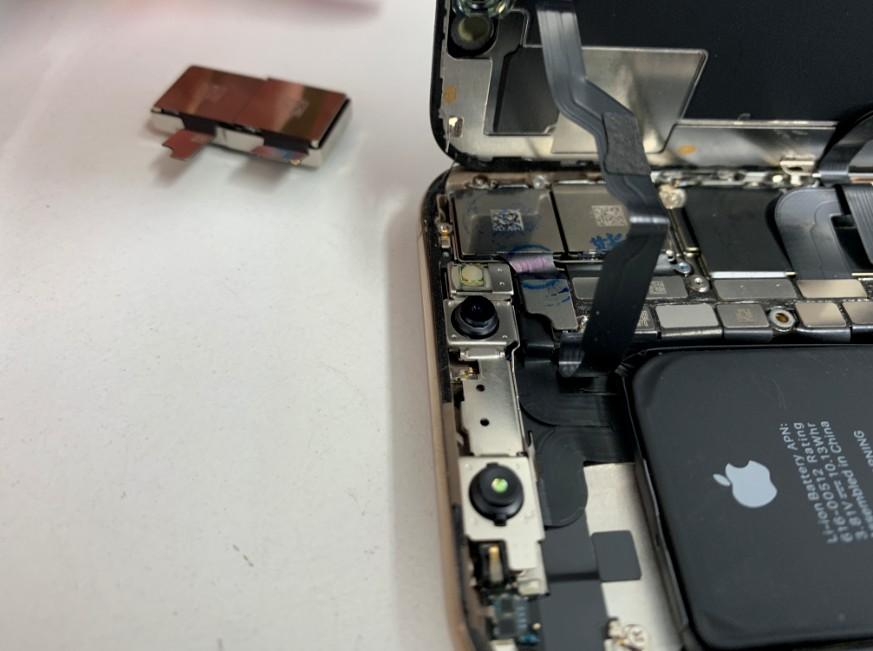 背面カメラ交換修理後のiPhone XS