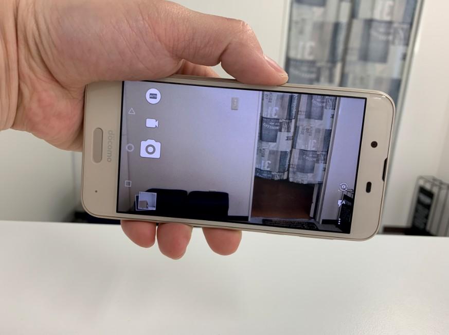 外カメラを交換して撮影出来るようになったAQUOS sense(SH-04H)