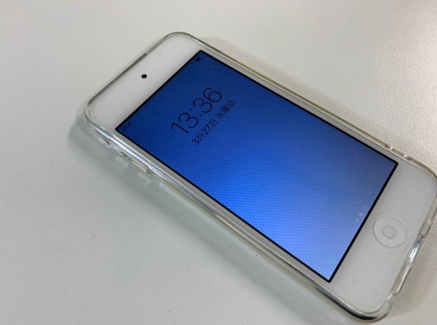 液晶画面を交換修理したiPod touch第6世代