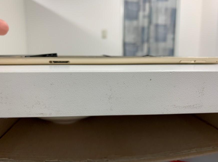 本体フレームの矯正後のiPad mini4