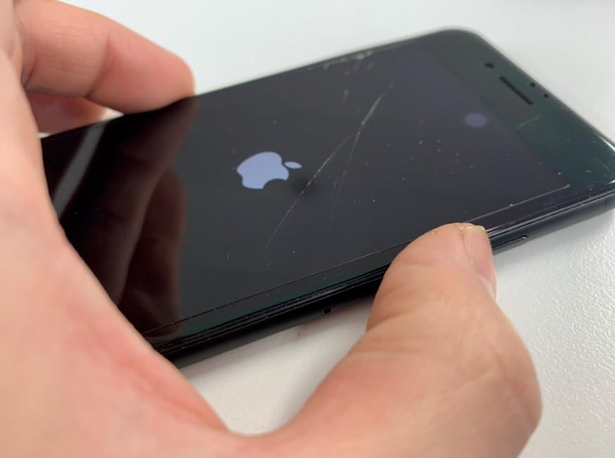 画面交換修理で表示されるようになったiPhone8