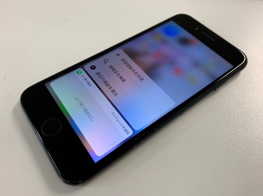 システム修繕でデータ復旧に成功したiPhone6