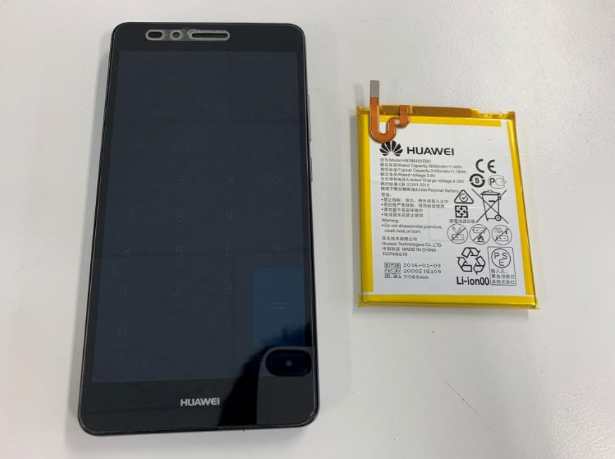 バッテリーを新品に交換したHUAWEI GR5